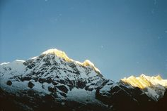 Annapurna Base Camp it is the crowded trekking trail in the World. It is at Pokhra Nepal. Annapurna is the 10th highest peak in the World.