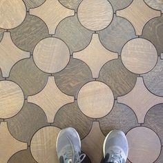Had a share again. This beautiful Jacks wood floor reminds a bit of Louis Vuitton. #floorcorenashville