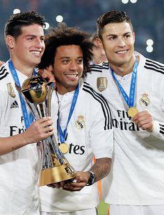 James Rodriguez Marcelo e Cristiano Ronaldo!!!