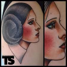 Princess Leia Tattoo 13