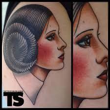 Princess Leia Tattoo 13