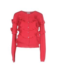 RED VALENTINO Cardigan. #redvalentino #cloth #dress #top #skirt #pant #coat #jacket #jecket #beachwear #
