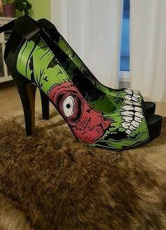 Kaufe meinen Artikel bei #Kleiderkreisel http://www.kleiderkreisel.de/damenschuhe/hohe-schuhe/139723548-zombie-stomper-von-iron-fist-grosse-38