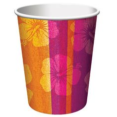 Take a sip of summer bliss from this luau-ready cup. Spread a bit of summer cheer with the Aloha Summer Cups. Rich, tropical hues line the cup along with sweet hibiscus blooms. Keep the island theme flowing with other items in the Aloha Summer Collection. Luau Party Supplies, Luau Theme Party, Hawaiian Luau Party, Wholesale Party Supplies, Party Themes, Disney Balloons, Cheap Party Decorations, Wholesale Balloons, Paper Cups