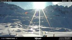 #Passo  #Grostè visto da #Spinale #Chalet #Fiat a #Campiglio nella #ski area più grande in #Trentino. #Skiarea #Dolomiti di #Brenta.