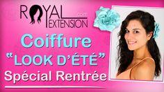 """Tuto Coiffure : Cheveux ondulés """"effet mouillé"""" by Royal Extension"""