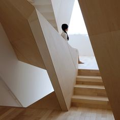 Multidimensional partition walls create dynamic spaces in the New Kyoto Town House. ALPHAville. http://www.dezeen.com/2011/04/18/new-kyoto-town-house-by-alphaville/