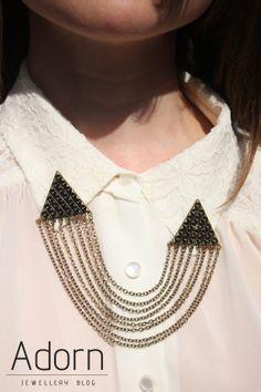 #JewellerySteetStyle #JewelleryTrends #JewelryTrends #jewelleryoftheday #jewelryoftheday #Jewellery #Jewelry #trends #Adorn #AdornLondon #MilanFashionWeek #StreetStyle #necklace #chain #black #layer #collar