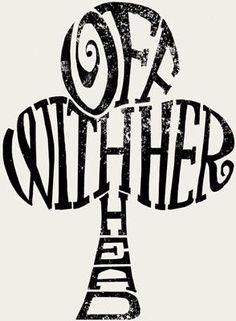 Image result for off with her head bookmark