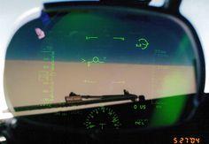 Heads Up Display (HUD) on the B-737-832