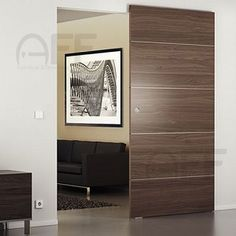 magic concealed sliding system for wood door no upper or lower track interior puertas