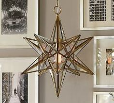 Pendant Lighting Light Fixtures Lights Pottery Barn I Love This For The