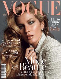 Gisele Bundchen by Inez & Vinoodh Vogue Paris November 2013