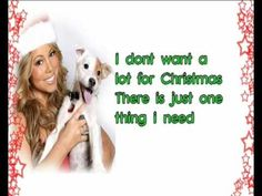 Mariah Carey - All I want for Christmas is you LYRICS