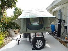 Trailer Tent, Off Road Trailer, Rent A Tent, Tiny Trailers, Punk Shoes, Low Heel Boots, Chelsea Ankle Boots, Camping Stuff, Hammocks