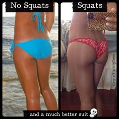 booty before & after: only cardio vs minimal cardio & weights! amazing blog with great tips on strength training & nutrition