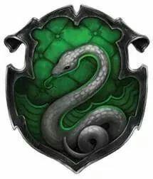 I'm Slytherin. ♡♥