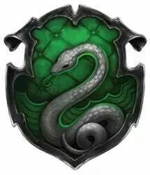 I'm Slytherin. ♡♥