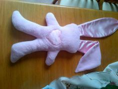 Betty Big Ears Bunny. A cuddly soft toy with super silky, soothing ears.