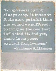Always forgive others :) Just remember. Don't forget....