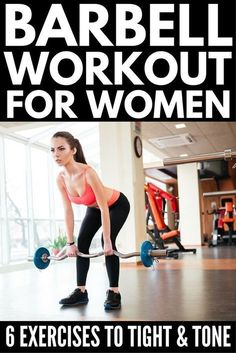 barbell circuit for exercising at home  body shape