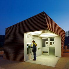 Parking Attendant's Pavilion by Jean-Luc Fugier