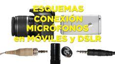 Cómo conectar micrófonos al móvil y a una DSLR: esquemas