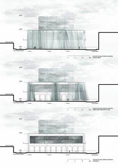 Hidden Exposition / Moysiadis + Oikonomou + Tsitsikas + Panopoulos + Vegliris (Design team: Dimos Moysiadis, Ioannis Oikonomou, Kostas Panopoulos, Xaris Tsitsikas, Grigoris Vegliris) - Corfu, Greece