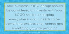 Why Hiring a Logo Designer is a Wise Investment #logoDesigner