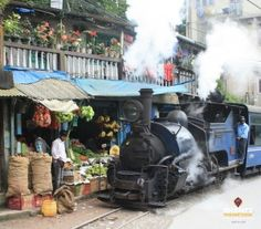 The Toy Train is part of the Darjeeling Himalayan Railway, a #UNESCO World Heritage site; the 8-kilometre stretch between Darjeeling and Ghoom loops through splendid wooded hills that make for great photo ops. On your way back, you could also drop by the Japanese Peace Pagoda on the Jalaphar Hill and shop for local handicrafts and miscellaneous knick-knacks at Batasia Loop. #Travel