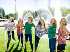 Best Friend Photoshoot with Fashion Photographer Michelle Moore at the Seattle Center