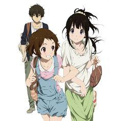 Hyouka. Hōtarō, Eru & Mayaka.