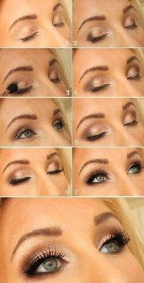 Repinned:  Summer Eye Makeup Tutorial.