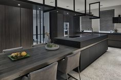 Using The Experts For Kitchen Renovations - Sweet Crib Modern Kitchen Interiors, Kitchen Inspirations, Kitchen Dinning, Interior Design Kitchen, Home Decor Kitchen, Kitchen Furniture Design, Kitchen Room Design, Kitchen Island Dining Table, Contemporary Kitchen