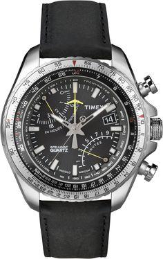 #Timex Intelligent Quartz Aviator #IQ