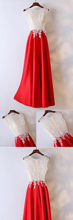 Only $109, White And Red Lace Long Formal Dress For Women #MYX18176 at #SheProm. SheProm is an online store with thousands of dresses, range from Party,Red,A Line Dresses,Long Dresses,Customizable Dresses and so on. Not only selling formal dresses, more and more trendy dress styles will be updated daily to our store. With low price and high quality guaranteed, you will definitely like shopping from us. Shop now to get $10 off!
