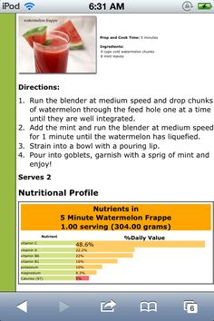 It is a healty food. So if you like watermelon try it                                            ❤                                               Tracey L.