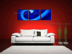 Gorgeous Contemporary wall art seascape oil painting on canvas. Excellent details! The use of rich colors and light