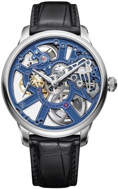 @mauricelacroix Watch Masterpiece Squelette #stylefromachitownerseye