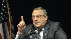 """Maine Gov. Paul LePage: you shoot """"the enemy"""" in war, and people of color are """"the enemy"""" right now"""