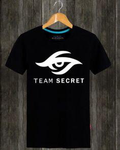 Dota 2 team secret t shirt for men short sleeve-