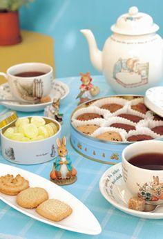 Tea time with Peter Rabbit