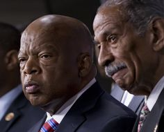 WASHINGTON -- Civil rights icon Rep. John Lewis (D-Ga.) said he wanted to cry after the Supreme Court struck down a key provision of the Voting Rights Ac. Civil Rights Leaders, Log Furniture, Furniture Design, I Want To Cry, Wedding Humor, Supreme Court, My Heart Is Breaking, Black History
