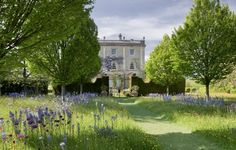 The Prince of Wales' gardens at Highgrove House in Gloucestershire.