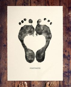 footprint... like this for a tattoo idea, but smaller. And maybe with baby's name in center