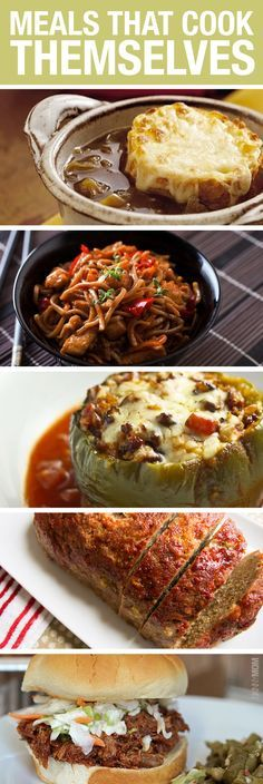 Great recipes with very little effort.