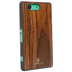 Sony Z3 Compact Drewniane etui PALISANDER - bewoodpoland - Obudowy do telefonów