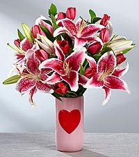 Every Beat of My Heart Valentine's Day Bouquet