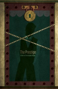 The Prestige ~ Minimal Movie Poster by TimCreative Minimal Movie Posters, Film Posters, Great Films, Good Movies, The Prestige Movie, Cinema, Alternative Movie Posters, Album Book, Minimalist Poster
