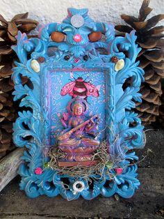 Rita's Saraswati Altar Shrine  Divine by RitaSpiritualGoods, $58.88